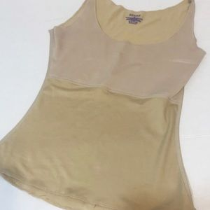 Spanx nude tank shape wear size med